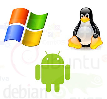 Linux Windows Android